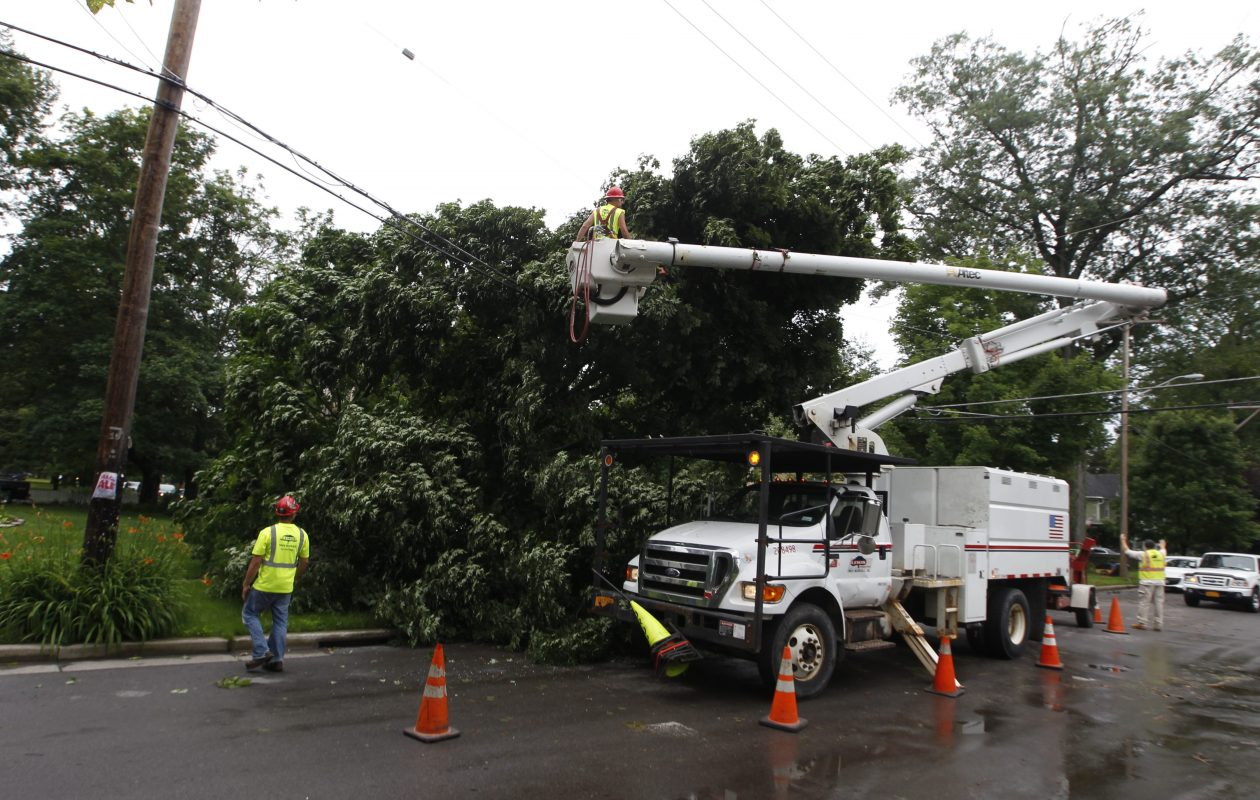 Thousands are without power across the Buffalo Niagara region. (News file photo)