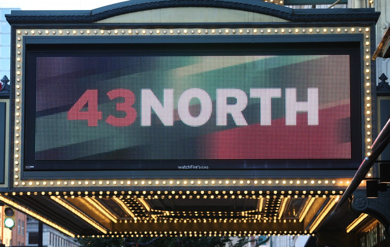 The finals of the 43North competition are held annually at Shea's Performing Arts Center.  (Sharon Cantillon/Buffalo News)