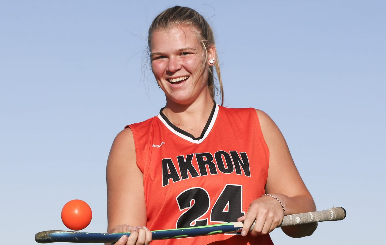 Akron's Abby Stone is our Prep Talk Female Athlete of the Week. (James P. McCoy/Buffalo News)