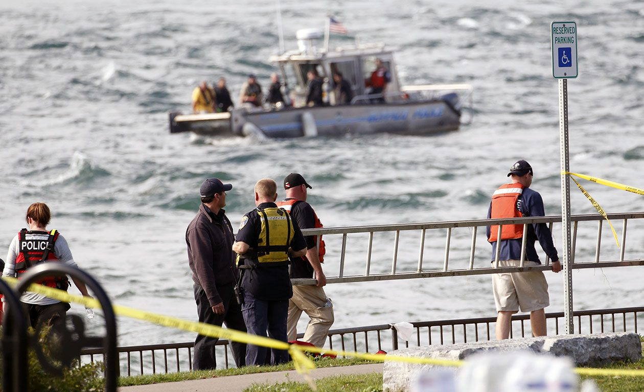 The search for Buffalo Police Officer Craig Lehner went on for days before the body of the missing diver was recovered. Now, investigators turn to figuring out what happened. (Sharon Cantillon/Buffalo News)