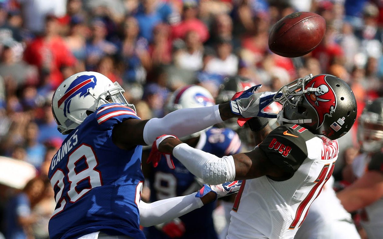Bills cornerback E.J. Gaines will not play Sunday. (James P. McCoy/News file photo)