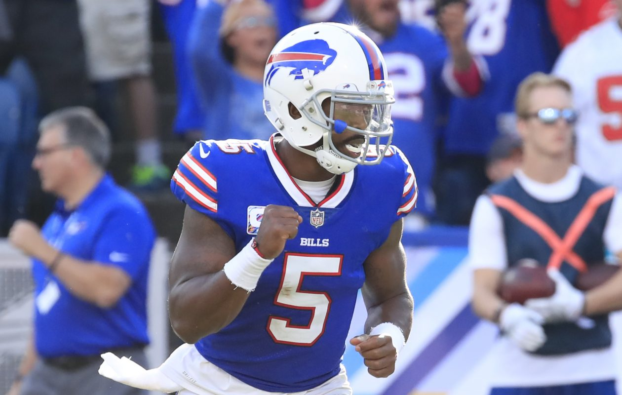 Quarterback Tyrod Taylor led back-to-back comeback victories in Week Seven and Week Eight for the Buffalo Bills. (Harry Scull Jr./Buffalo News)