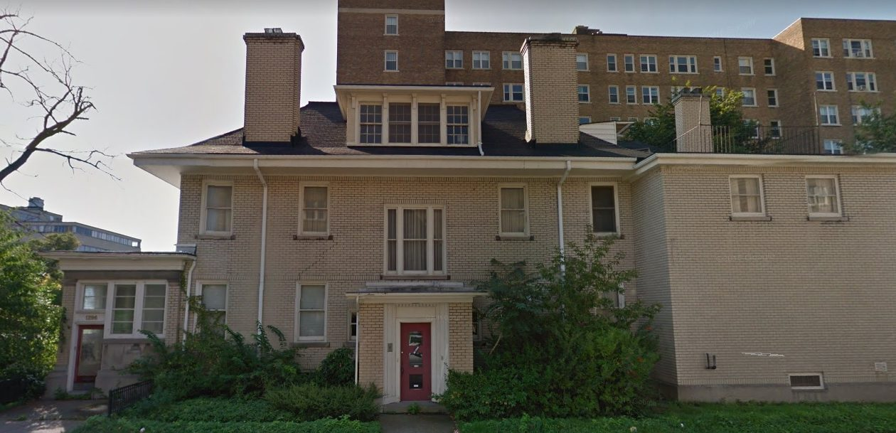 Developer Noel Sutton has acquired a three-story brick-and-masonry building at 1296 Delaware Ave. (Google Images)
