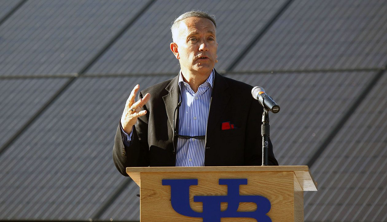 An internal UB audit in spring 2016 uncovered the thefts by former university administrator Dennis R. Black. (Harry Scull Jr./News file photo)