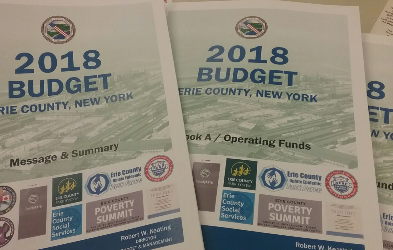 The Erie County executive's 2018 budget proposal set to pass in the Legislature. (Sandra Tan/Buffalo News)
