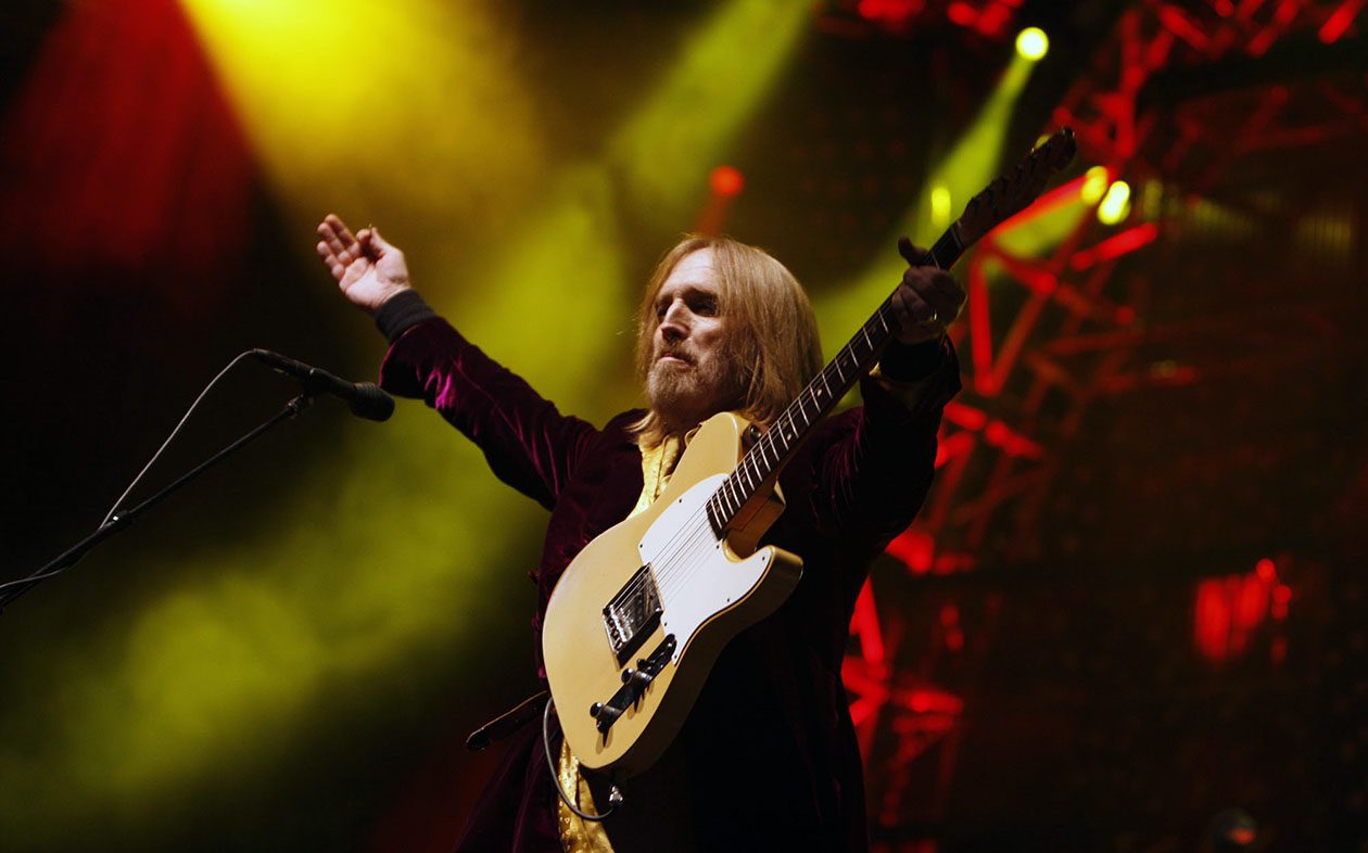 Tom Petty, seen here during a 2008 performance at Darien Lake, reportedly has died. (Angela Shoemaker/Buffalo News)