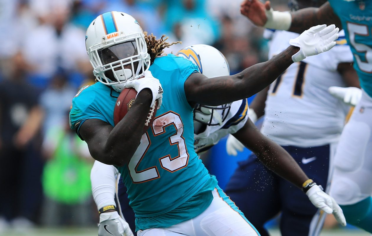 The Miami Dolphins traded Jay Ajayi to the Philadelphia Eagles for a fourth-round pick. (Getty Images)