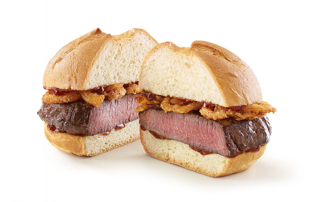 Arby's venison sandwich with juniper berry sauce will be available for one day. (Arby's)