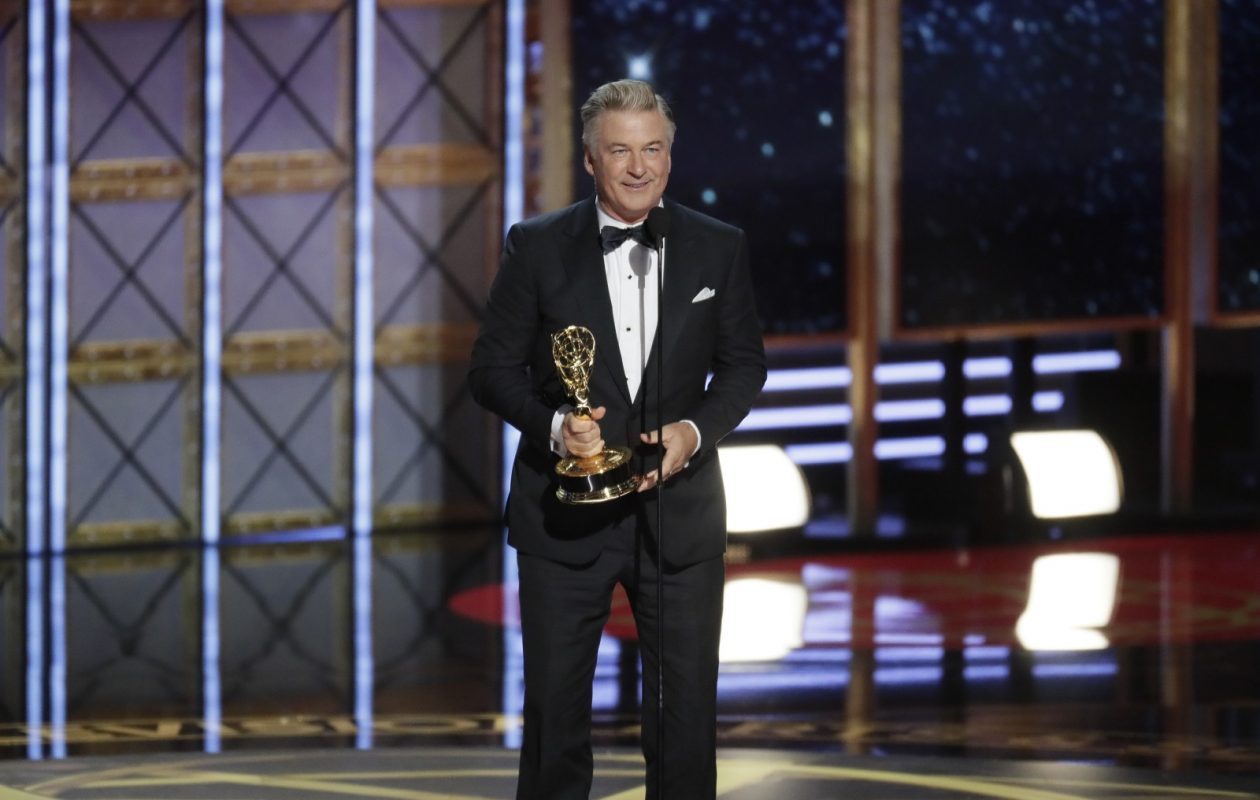 Alec Baldwin, pictured accepting his Emmy award, was popular when SNL debuted for the season in 2016. The show's first 2017 airing did not do as well. (Robert Gauthier/Los Angeles Times/TNS)
