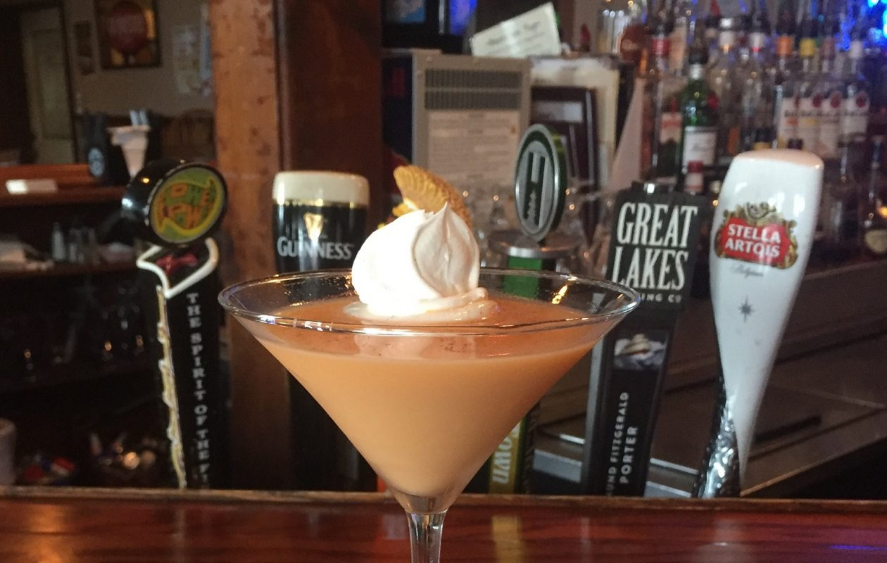 Owner Dawn Kovach has perfected the pumpkin martini at J&M's West End Inn. (Elizabeth Carey/Special to The News.)
