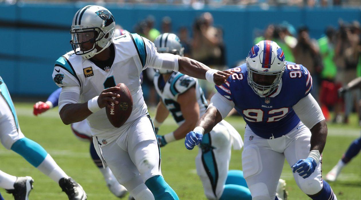 Adolphus Washington has taken over as a starter at defensive tackle following the Bills' trade of Marcell Dareus. (James P. McCoy/Buffalo News)