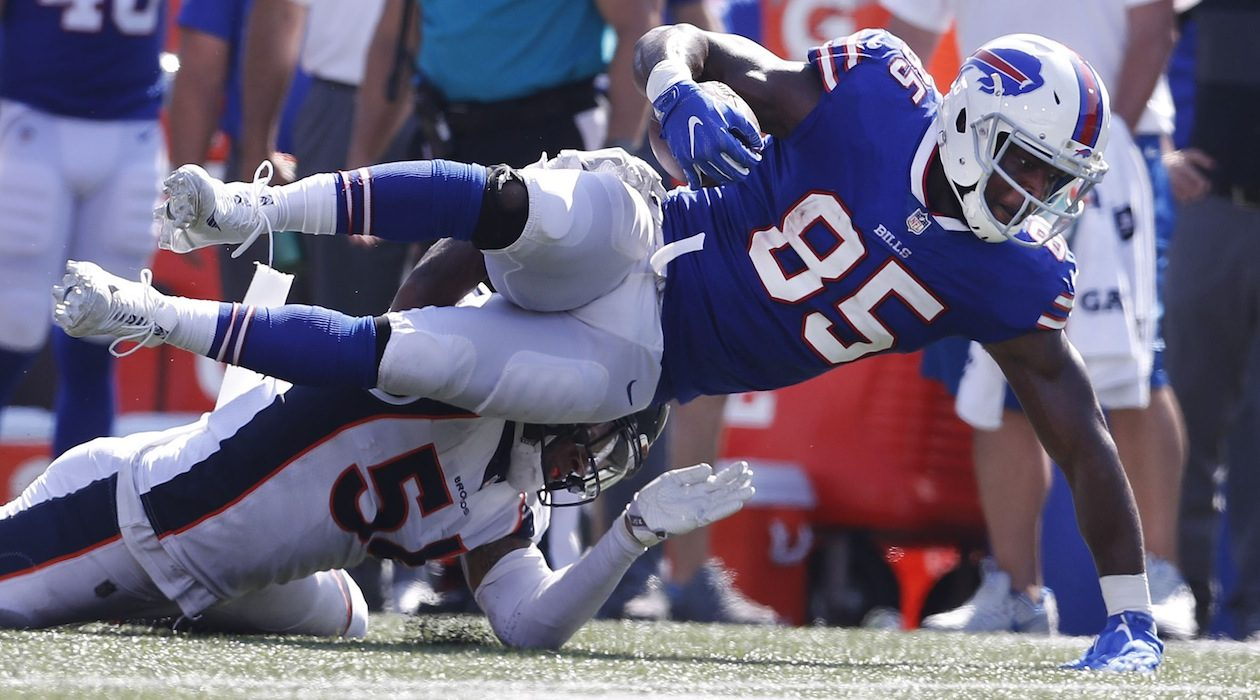 The Bills will be counting on the return of Charles Clay to spark their offense. (Mark Mulville/Buffalo News)