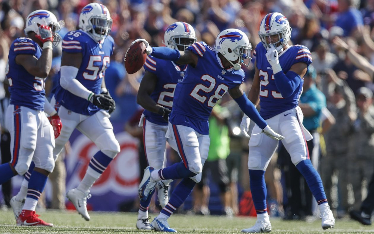 Cornerback E.J. Gaines remains on the open market. Could that increase the chances of him returning to the Bills? (Mark Mulville/News file photo)
