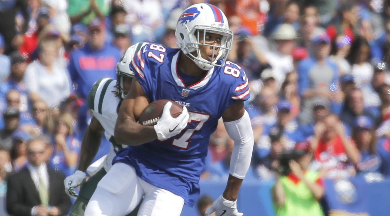 Free-agent receiver Jordan Matthews had knee and ankle surgeries during the season after being placed on injured reserve. (Robert Kirkham/News file photo)