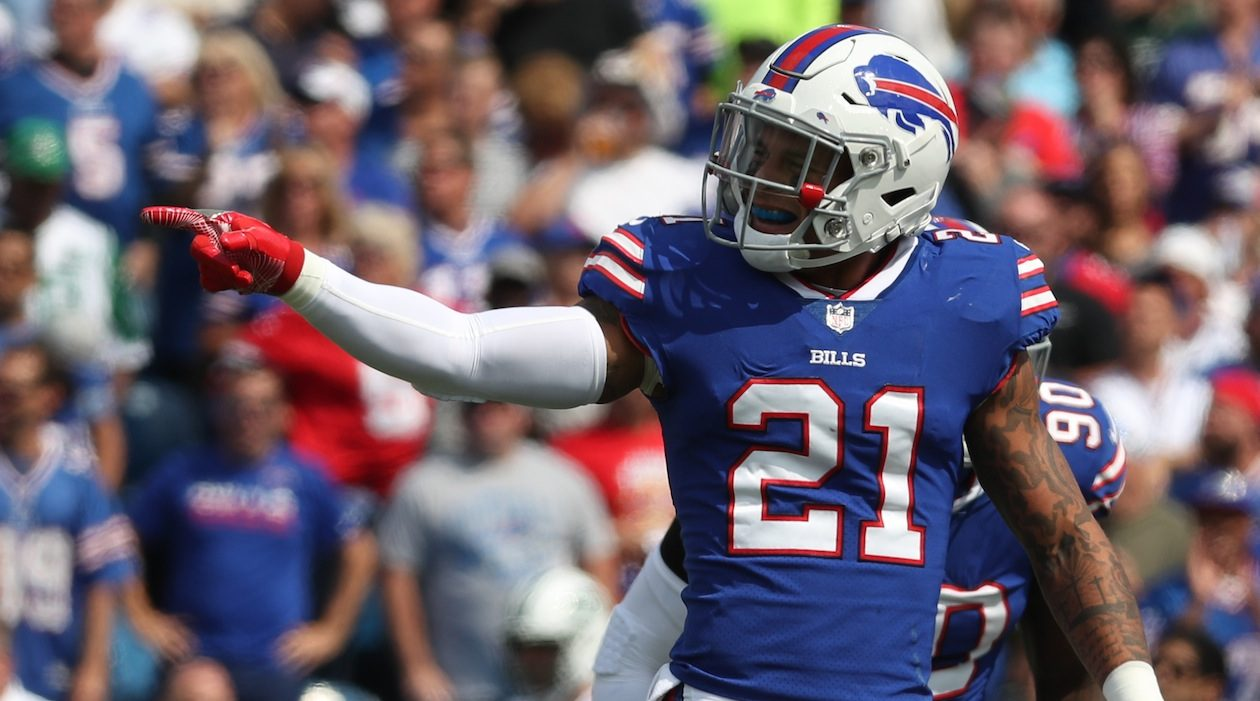 Safety Jordan Poyer has played a big role in the Bills' rebuilt secondary. (James P. McCoy/Buffalo News)
