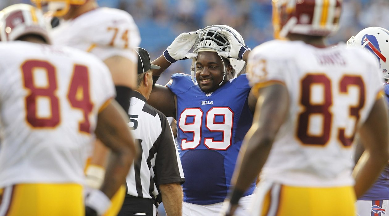 The Bills don't appear likely to keep defensive tackle Marcell Dareus beyond this season. (Harry Scull Jr./Buffalo News)