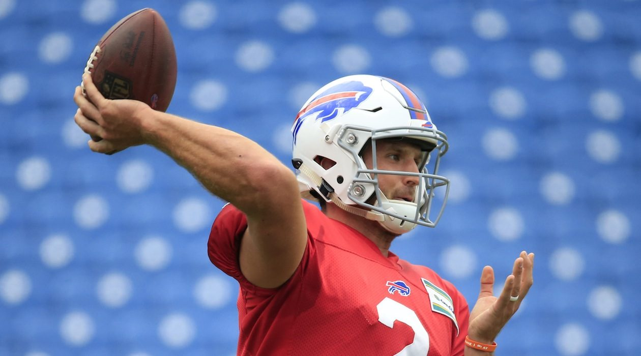 Nathan Peterman (Harry Scull Jr./Buffalo News)