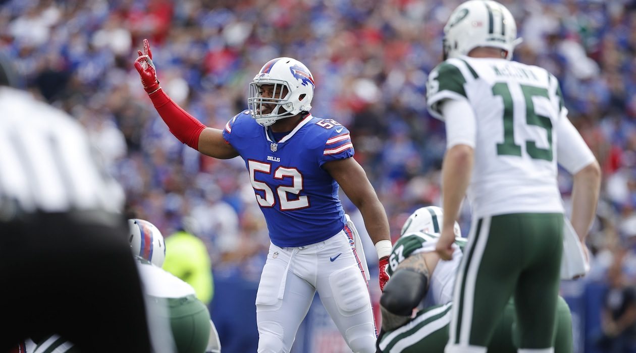 Preston Brown (Mark Mulville/Buffalo News)