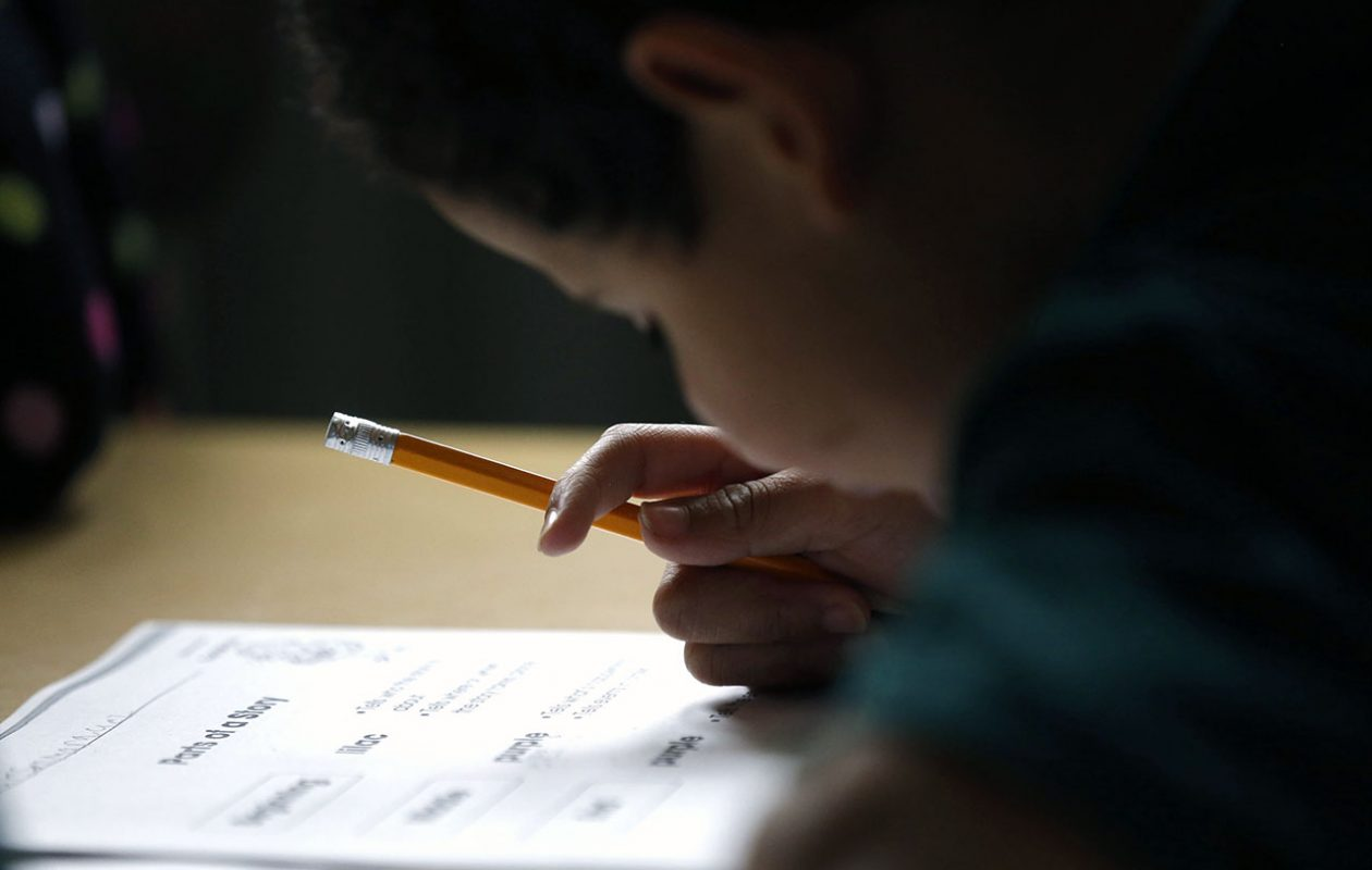 A study finds the opt-out rate in low-income districts is low. (Robert Kirkham/News file photo)