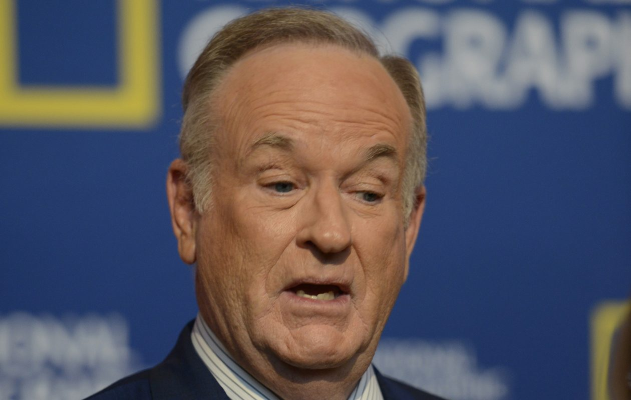 Bill O'Reilly at the Newseum in Washington D.C., on Oct. 6, 2016. (Leigh Vogel/National Geographic Channel/PictureGroup/Sipa USA/TNS)