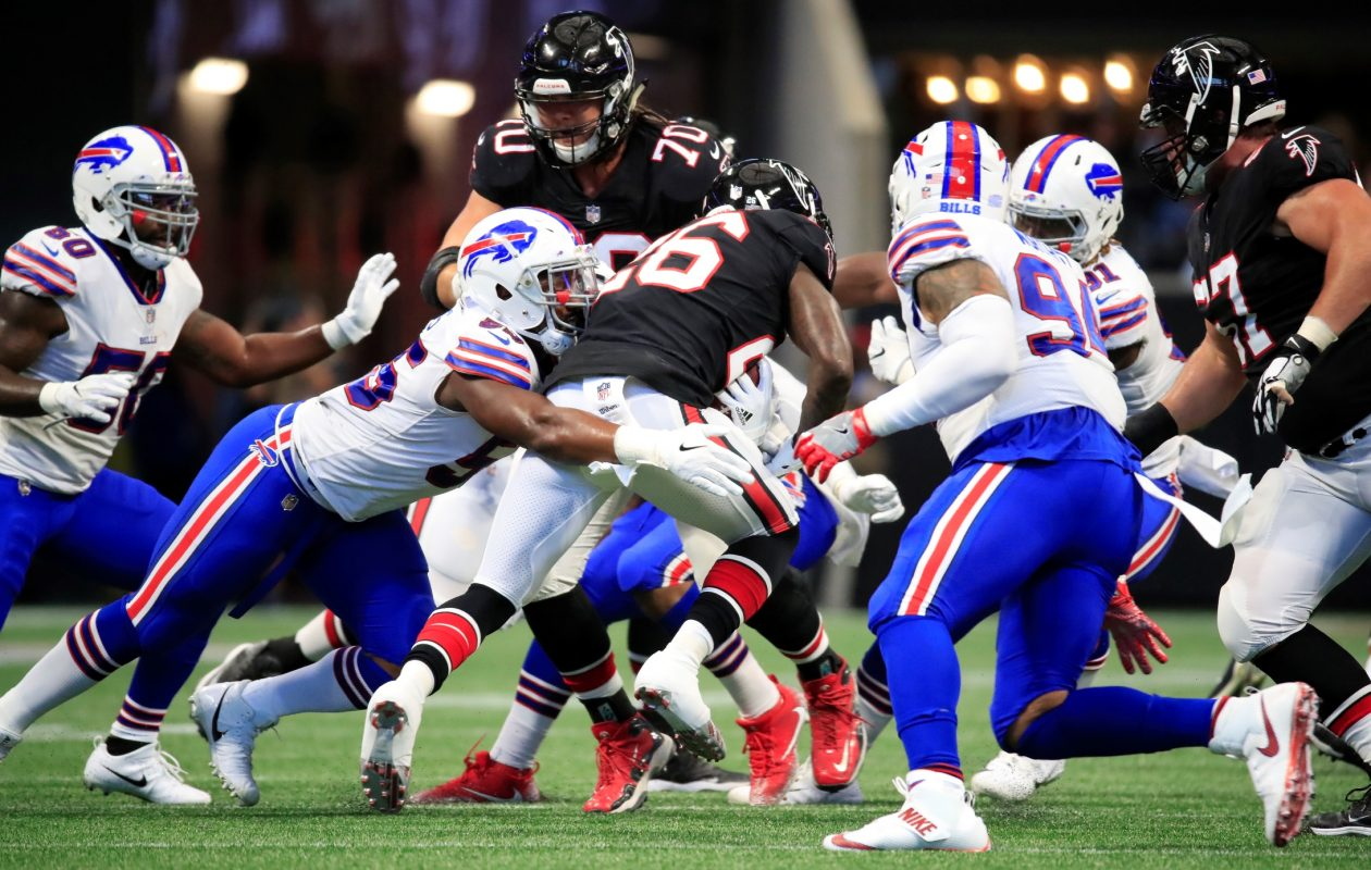 Players and coaches on the Buffalo Bills will take time during the bye week to rest and evaluate the team's performance. (Harry Scull Jr./ Buffalo News)