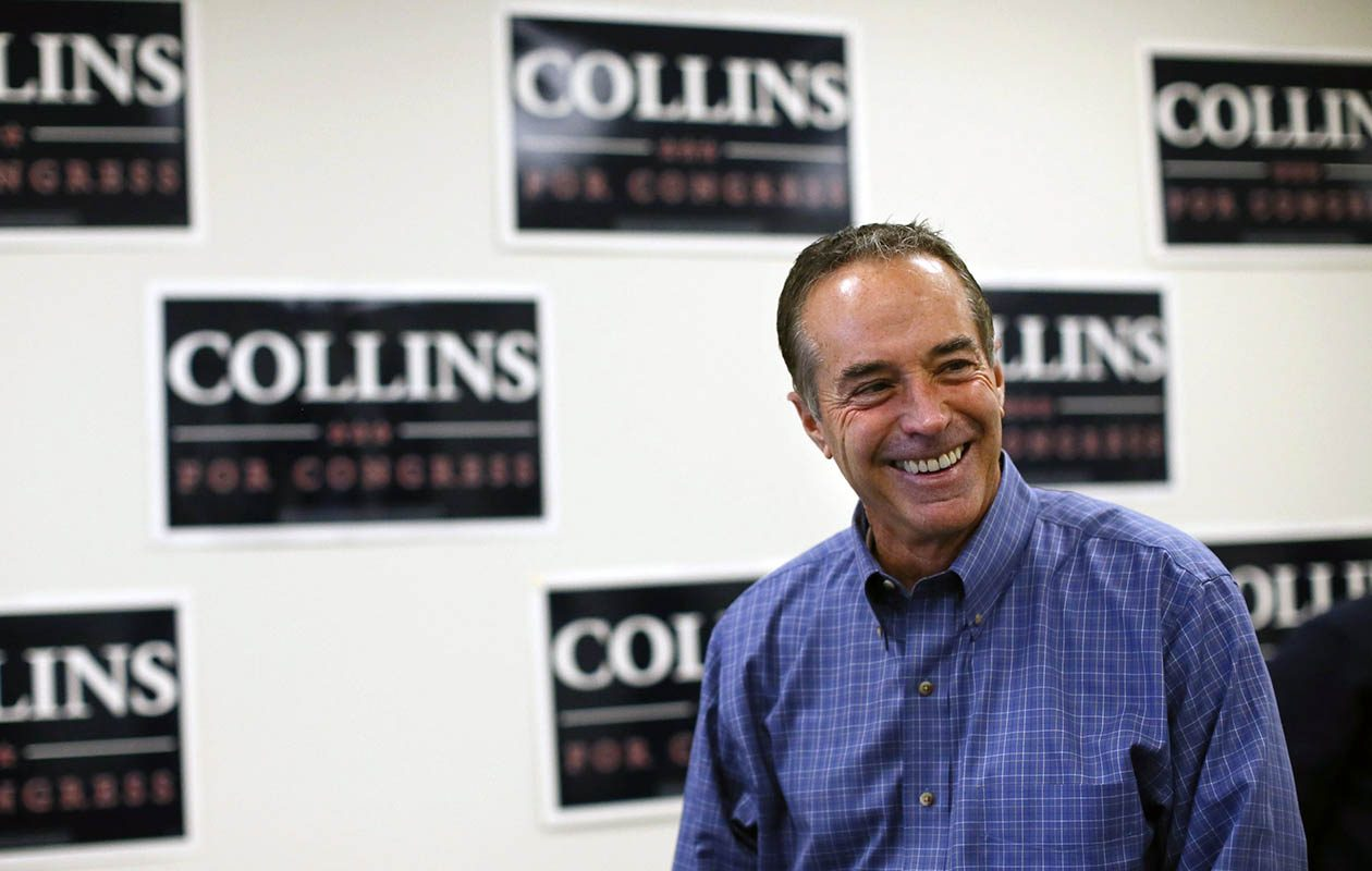 By the time Chris Collins was elected to Congress, Collins believed that Innate's drug, which had failed to stimulate the immune system to fight HIV, would stimulate the immune system to fight an irreversible, deadly form of multiple sclerosis. (Derek Gee/News file photo)