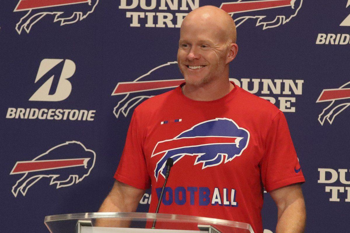 Bills coach Sean McDermott  (James P. McCoy/Buffalo News)