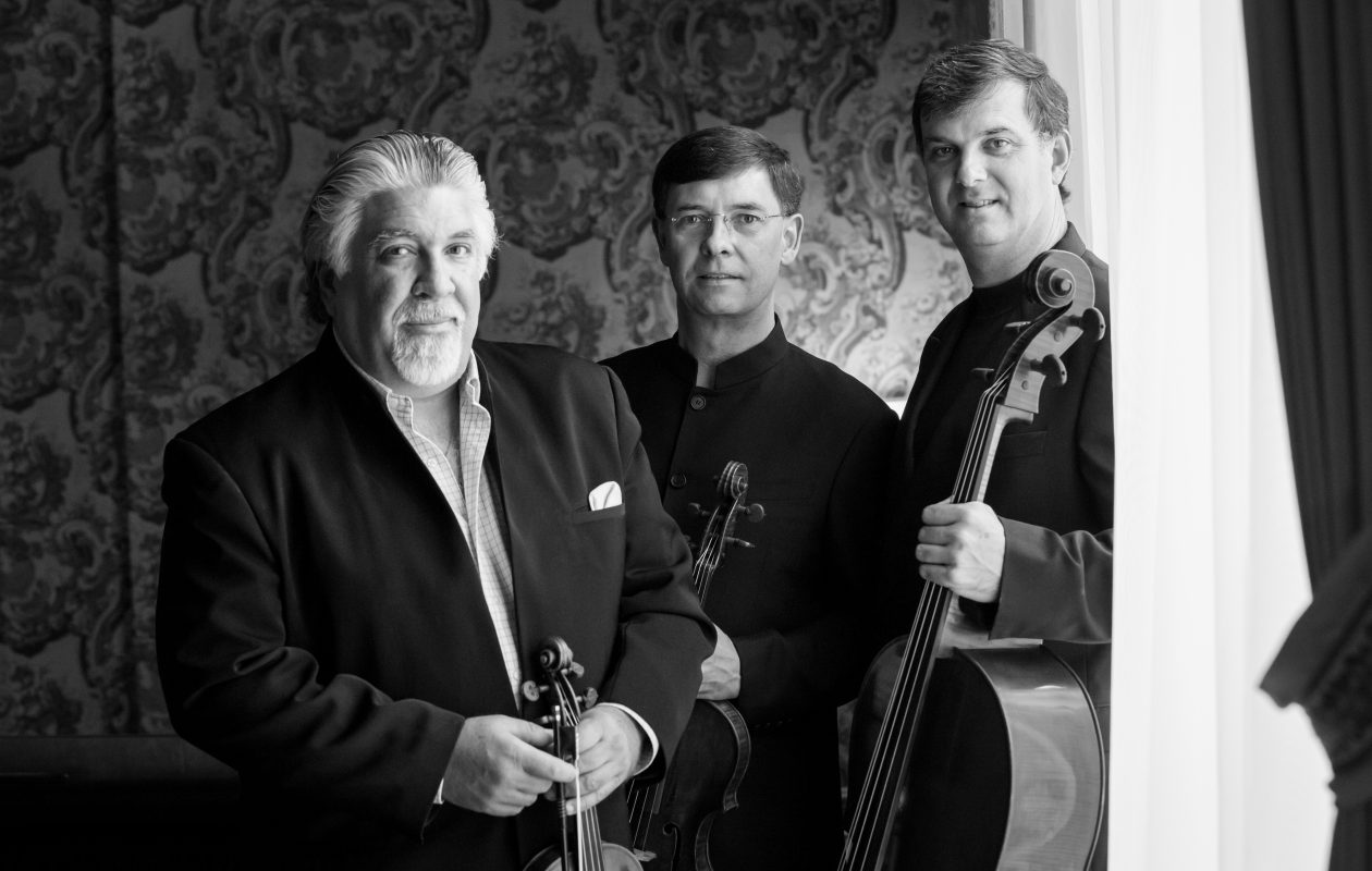 Roberto Diaz, center, is bringing a famous Stradivarius viola home to Buffalo for his recital with the Diaz Trio.