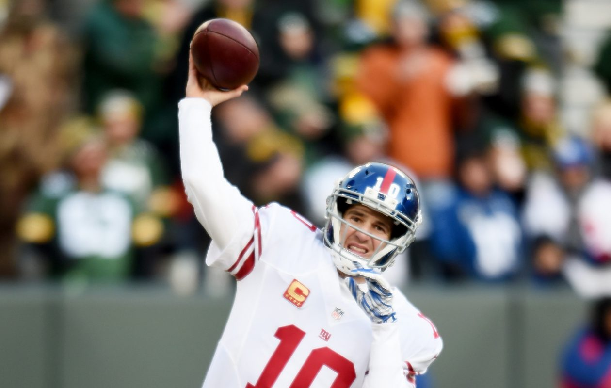 Will the Giants want a QB at No. 2 to replace Eli Manning? We don't think so. (Getty Images)