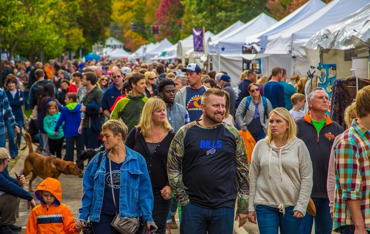 Scenes from the 2016 Ellicottville Fall Festival, which returns for another year on Oct. 7 and 8, 2017. (Don Nieman/Special to The News)