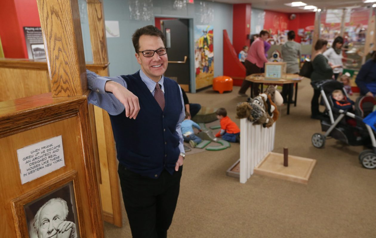 """""""I remain extremely excited about the museum's future,' Douglas Love said as he announced his resignation on Friday.  (Sharon Cantillon/Buffalo News file photo)"""