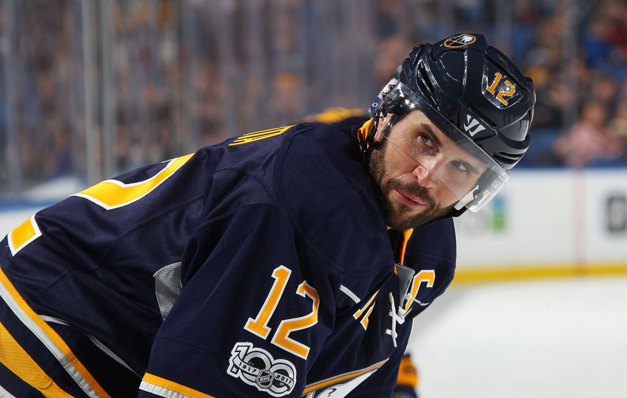 Brian Gionta will practice with the Amerks but not play in games. (NHLI via Getty Images)