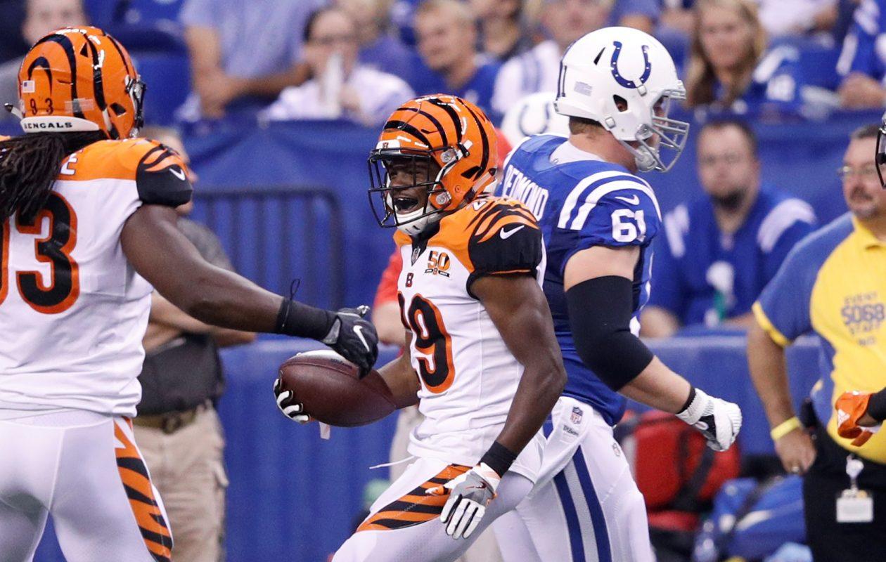 New Bills cornerback Tony McRae spent the 2016 season on the Cincinnati Bengals' practice squad. (Getty Images)