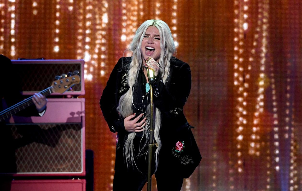 Kesha, pictured performing at the iHeartRadio Music Festival in Las Vegas in 2017, will headline Kissmas Bash. (Kevin Winter/Getty Images for iHeartMedia)
