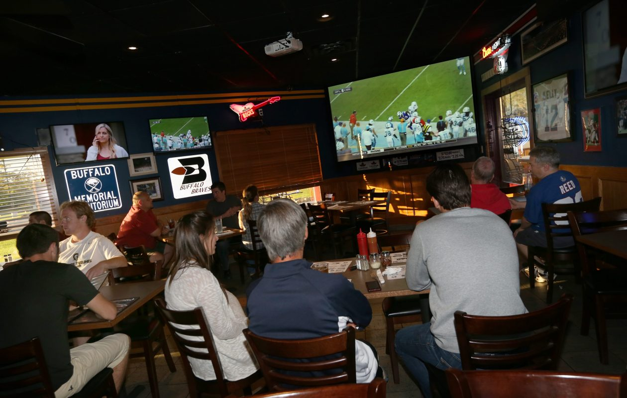 Dwindling television audiences are a big concern for NFL officials. (Sharon Cantillon/Buffalo News file photo)