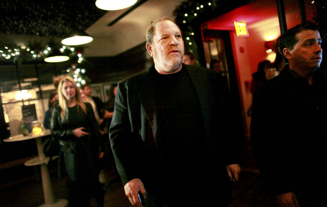Harvey Weinstein has been fired from his film studio, the Weinstein Co.(New York Times file photo)
