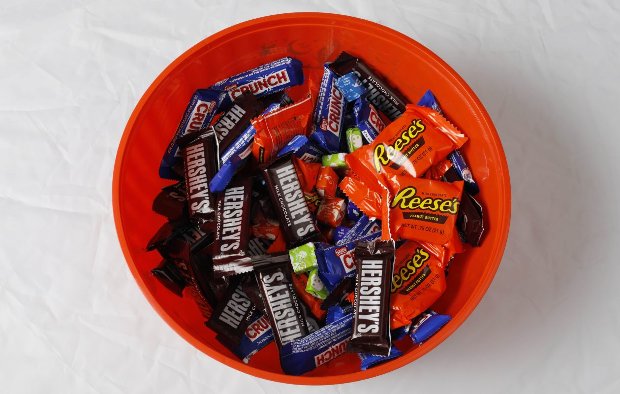 It could be a wet Halloween for some trick-or-treaters. (Derek Gee/Buffalo News)