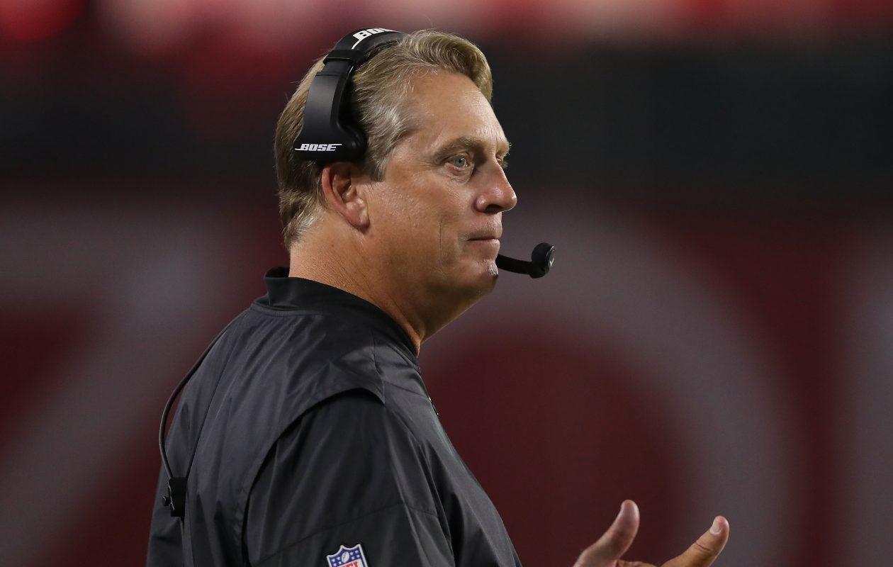 Raiders coach Jack Del Rio. (Getty  Images)