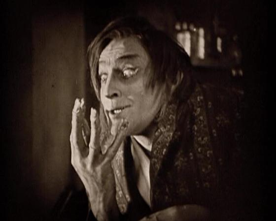"""The 1920 silent horror film """"Dr. Jekyll and Mr. Hyde"""" is noted for John Barrymore's transformation into the evil Hyde."""