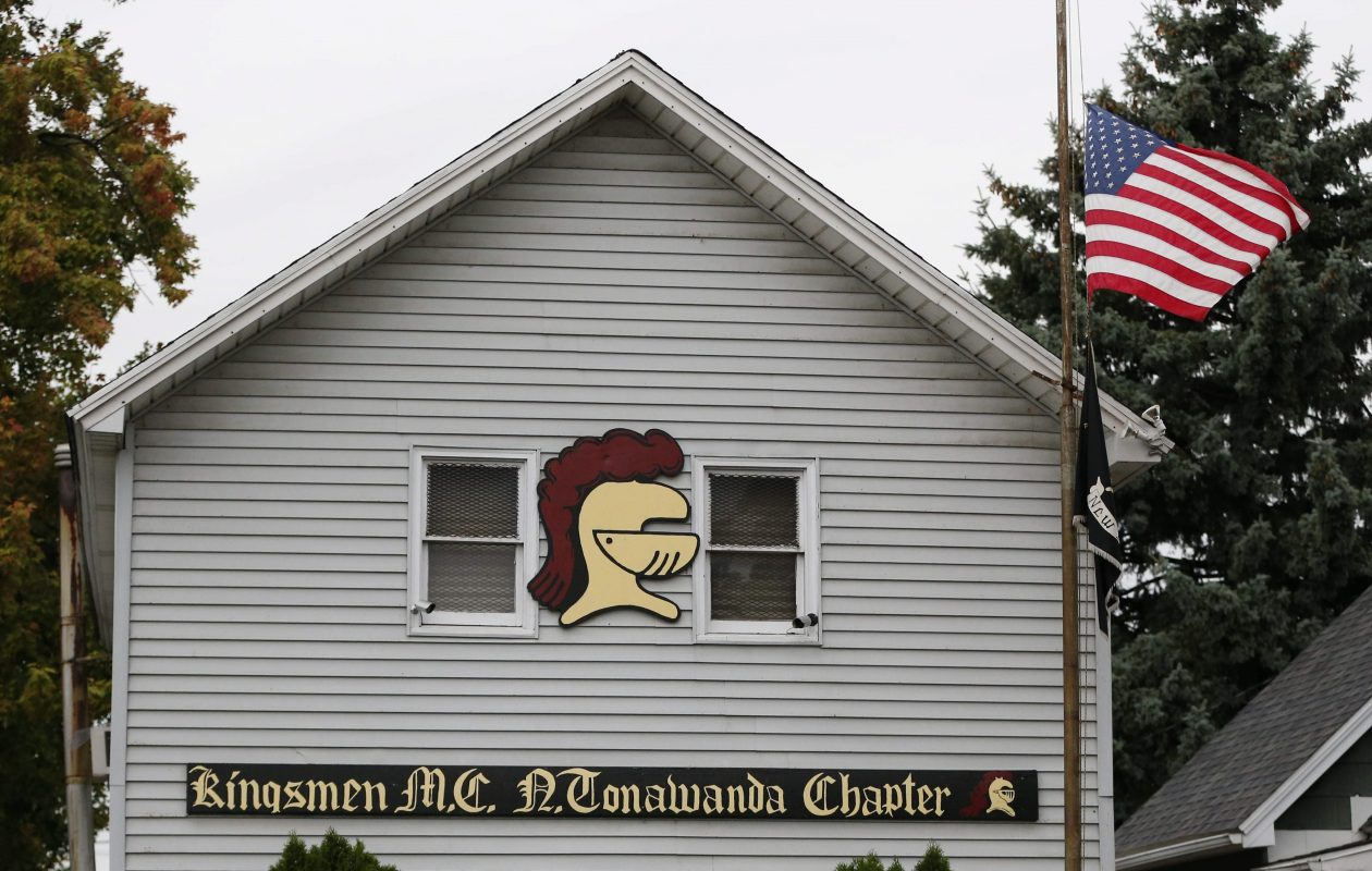 The emerging defense strategy in the trial of three Kingsmen is to blame other members for two murders outside the club's North Tonawanda headquarters in 2014. (Derek Gee/News file photo)