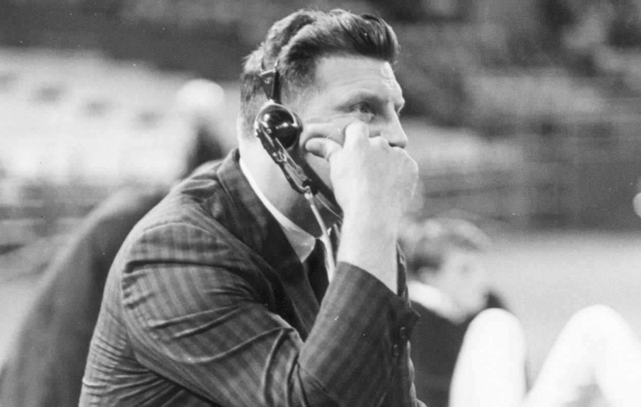 Lou Saban led the Bills to the only championships in franchise history, the 1964 and '65 AFL titles.  (Buffalo News file photo)
