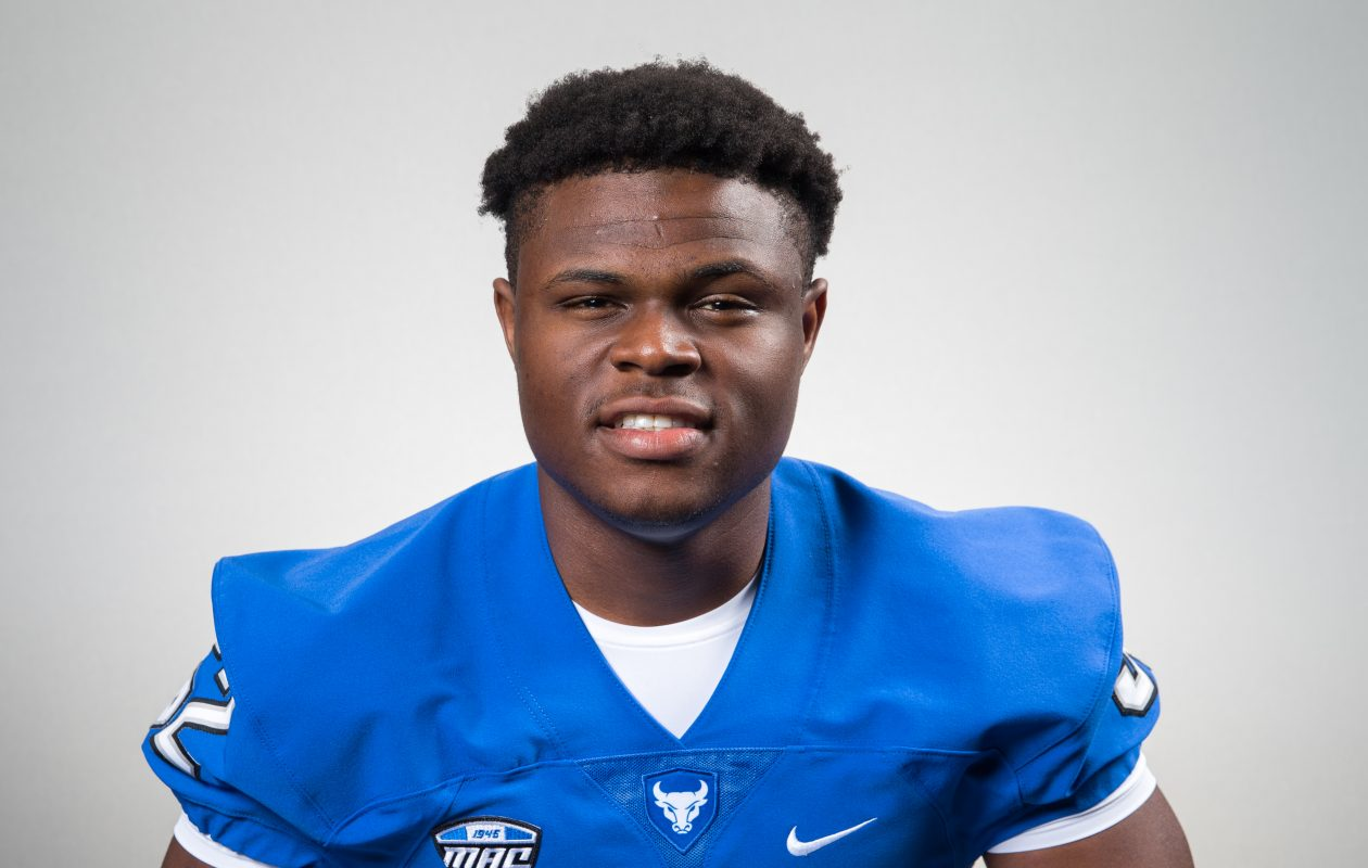 LeDarius Mack is red-shirting in his first season with the UB Bulls. (Photo courtesy of the University at Buffalo)