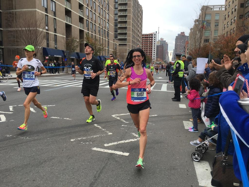 Melina Buck of Amherst will be running her eighth New York City Marathon on Nov. 5. (Courtesy Melina Buck)