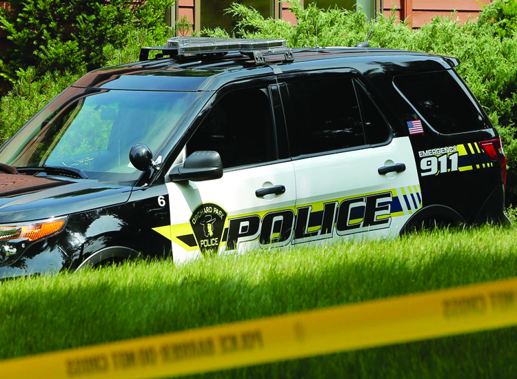 Orchard Park Police  received several calls about a vehicle dragging a light pole on Route 219. (News file photo)