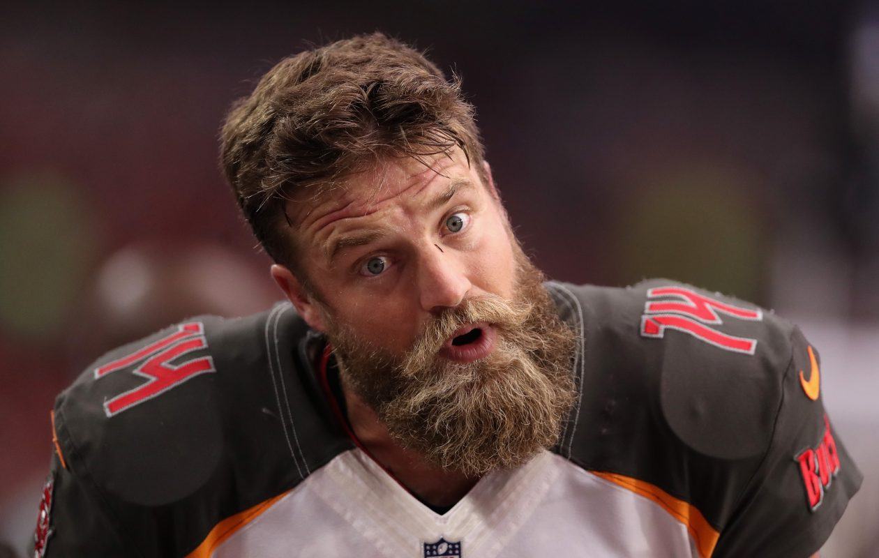 Tampa Bay Buccaneers backup quarterback Ryan Fitzpatrick. (Getty Images)