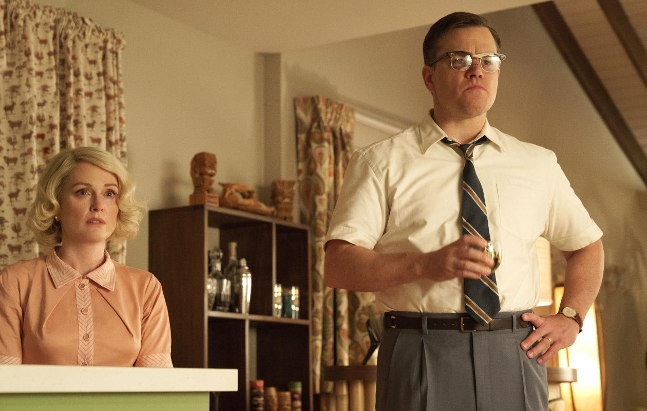 "Julianne Moore and Matt Damon star in the drama ""Suburbicon."" (Paramount Pictures/Black Bear Pictures)"