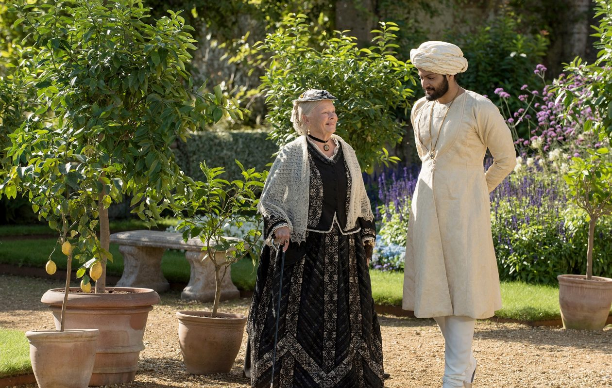 Judi Dench (left) is Queen Victoria and Ali Fazal (right) is Abdul Karim in 'Victoria and Abdul.' (Peter Mountain, Focus Features)