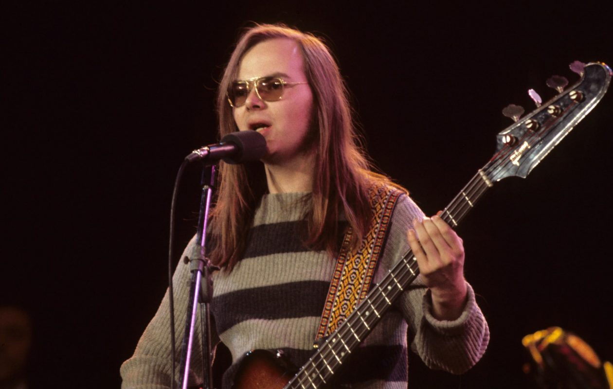 Walter Becker, co-founder and co-composer of Steely Dan. (Getty)
