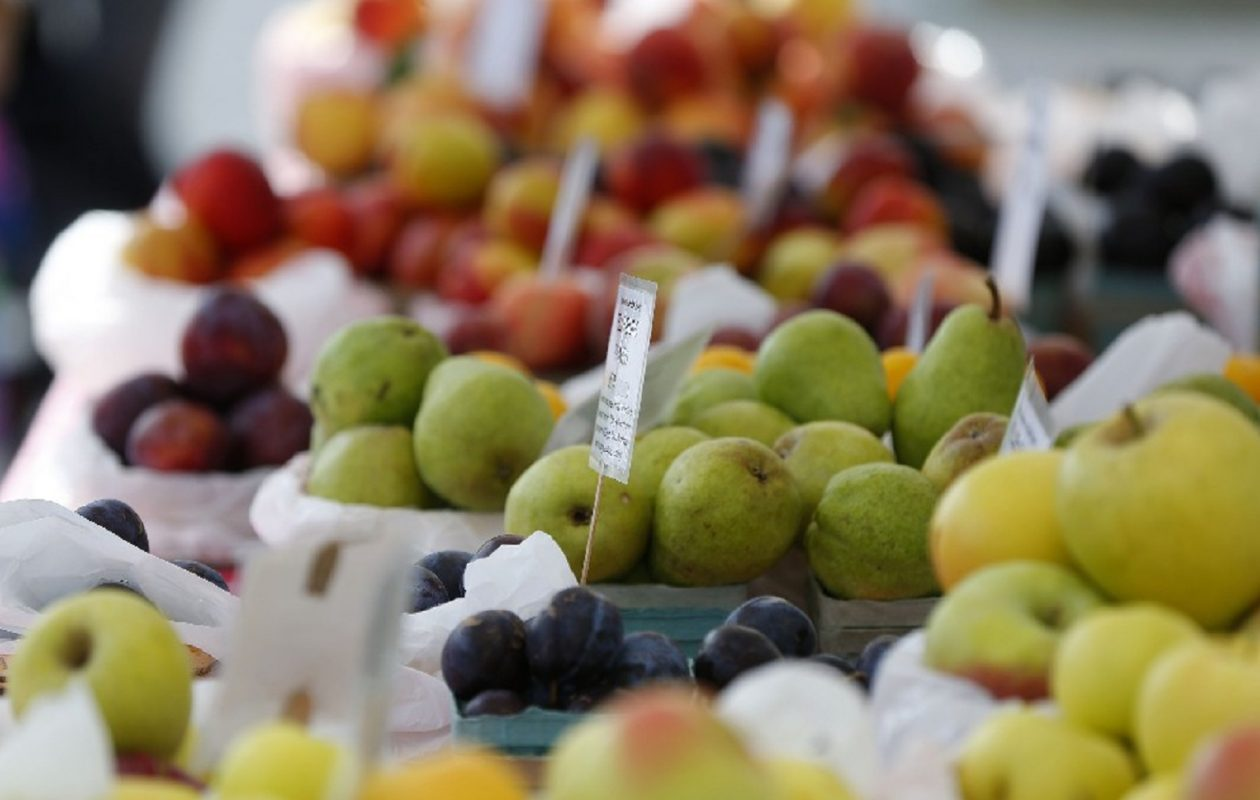 Several farmers' markets in the region will end their seasons this weekend. (Mark Mulville/Buffalo News)