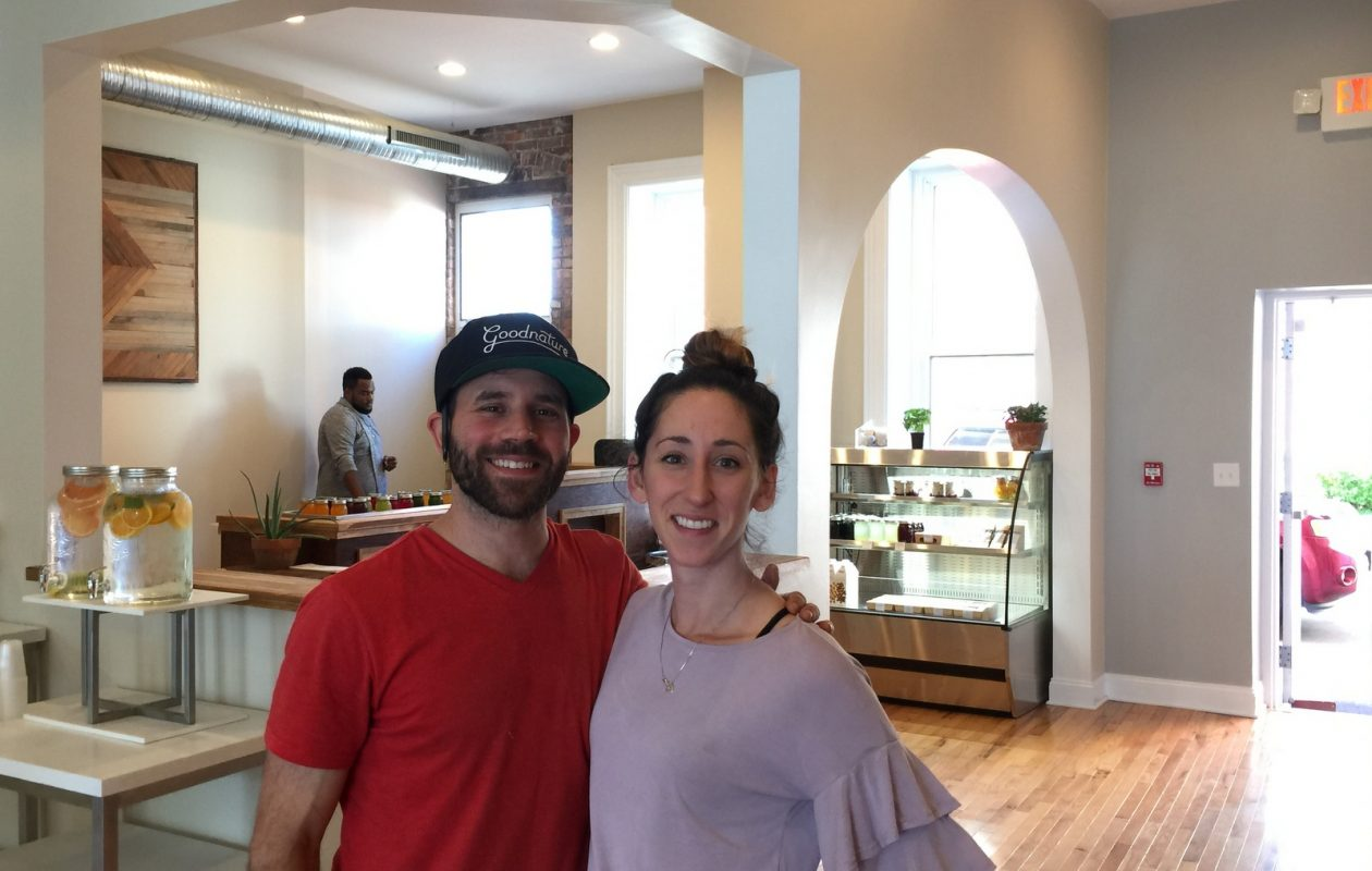Angelo Ashker and Sarah Nasca, partners at Ashker's on Main. (Andrew Galarneau)